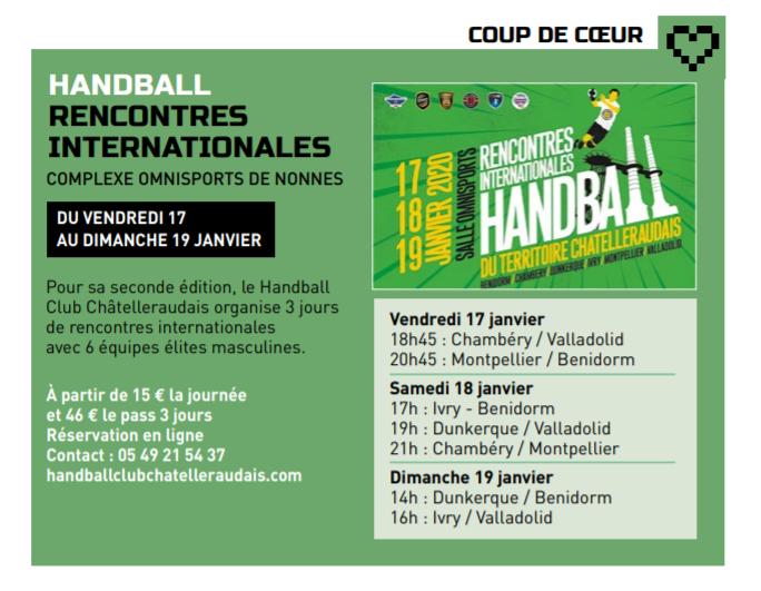 A l'affiche, Ville de Châtellerault, article paru p. 11 dans l'édition Janvier 2020
