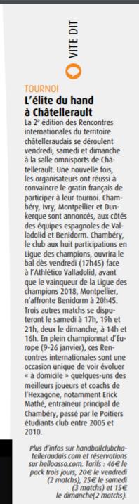 Le 7 à Poitiers, article paru dans le numéro du 14 au 20 janvier, page 23