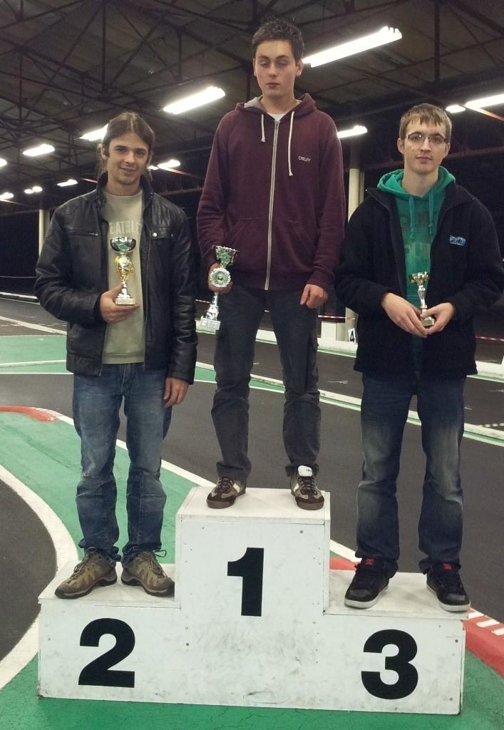 """Le podium des """"grands"""" au Mini Trophée des Savoies Rumilly 2012"""