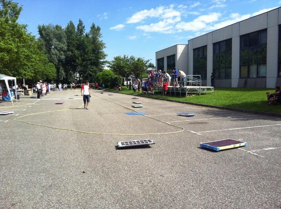 La course solaire 2013 à Technolac