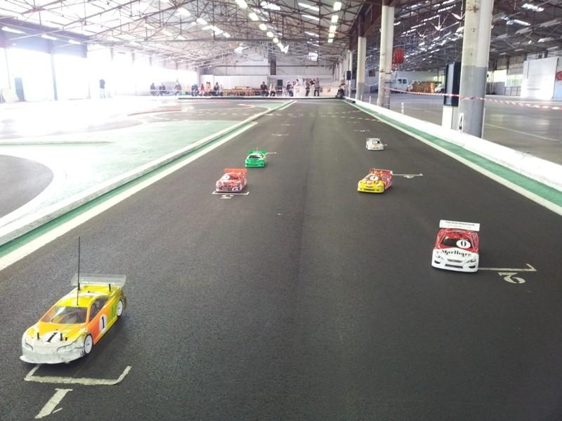 Attention au départ, manche du Trophée des Savoie DTM