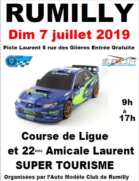 Course Touring 16 juin 2019