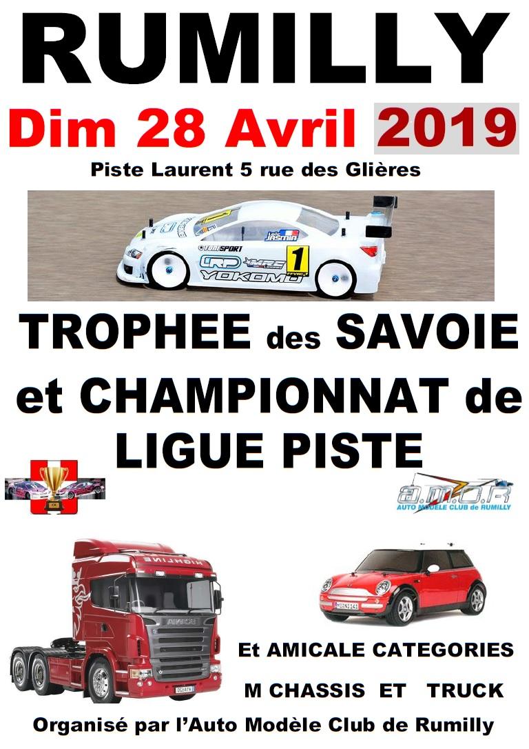 Course Piste et Tamiya 28 avril 2019