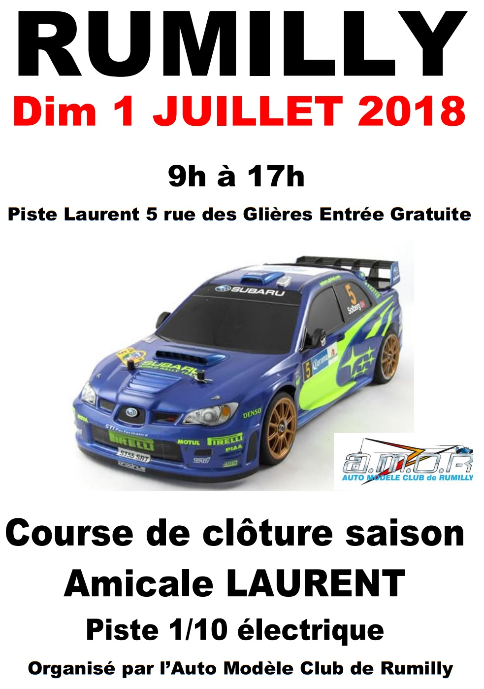 Amicale Cloture 2018