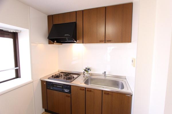 206号室キッチン