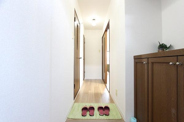 206号室玄関