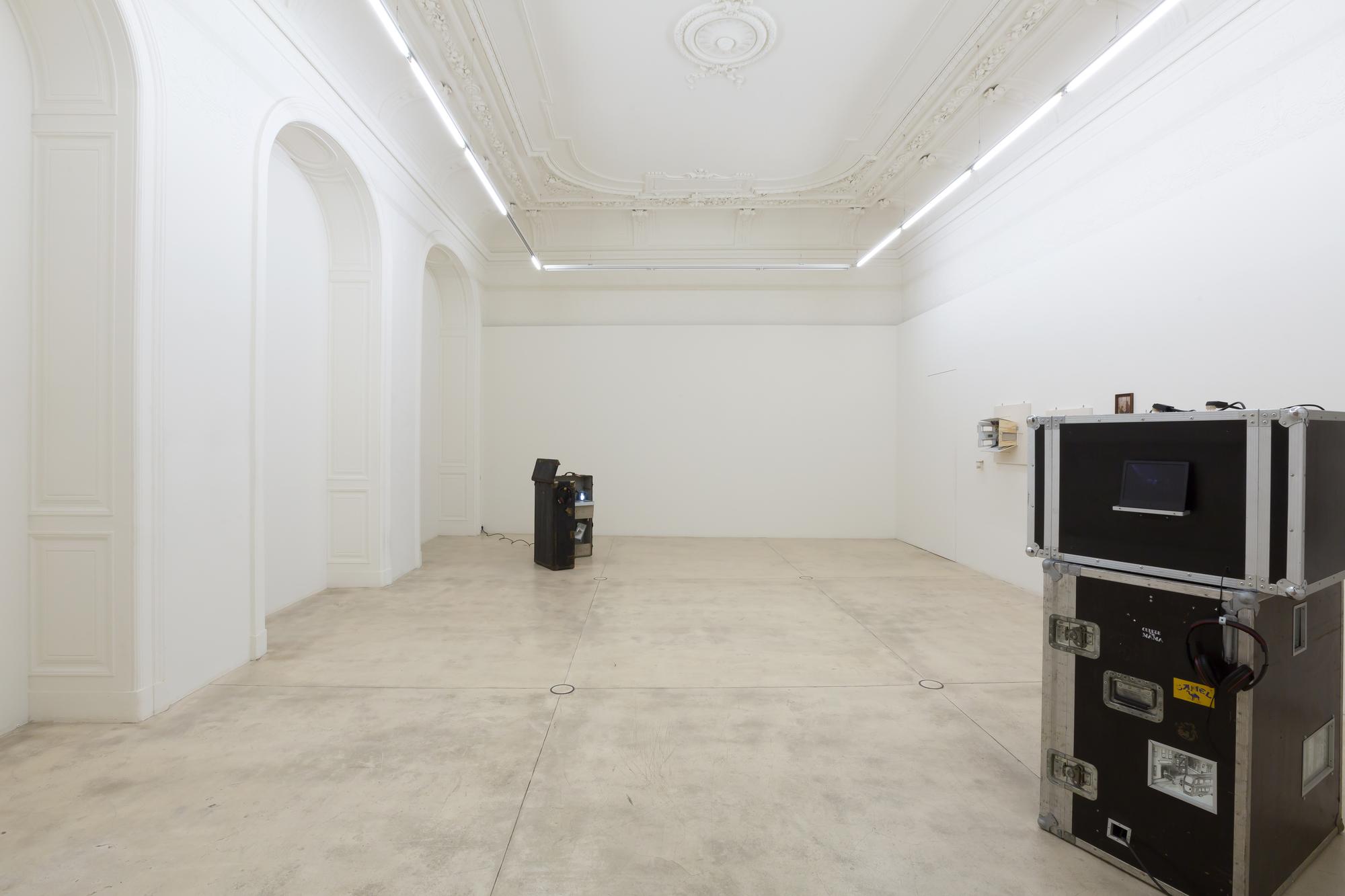 Linus Riepler Kunst Ausstellung in der Galerie in Wien.