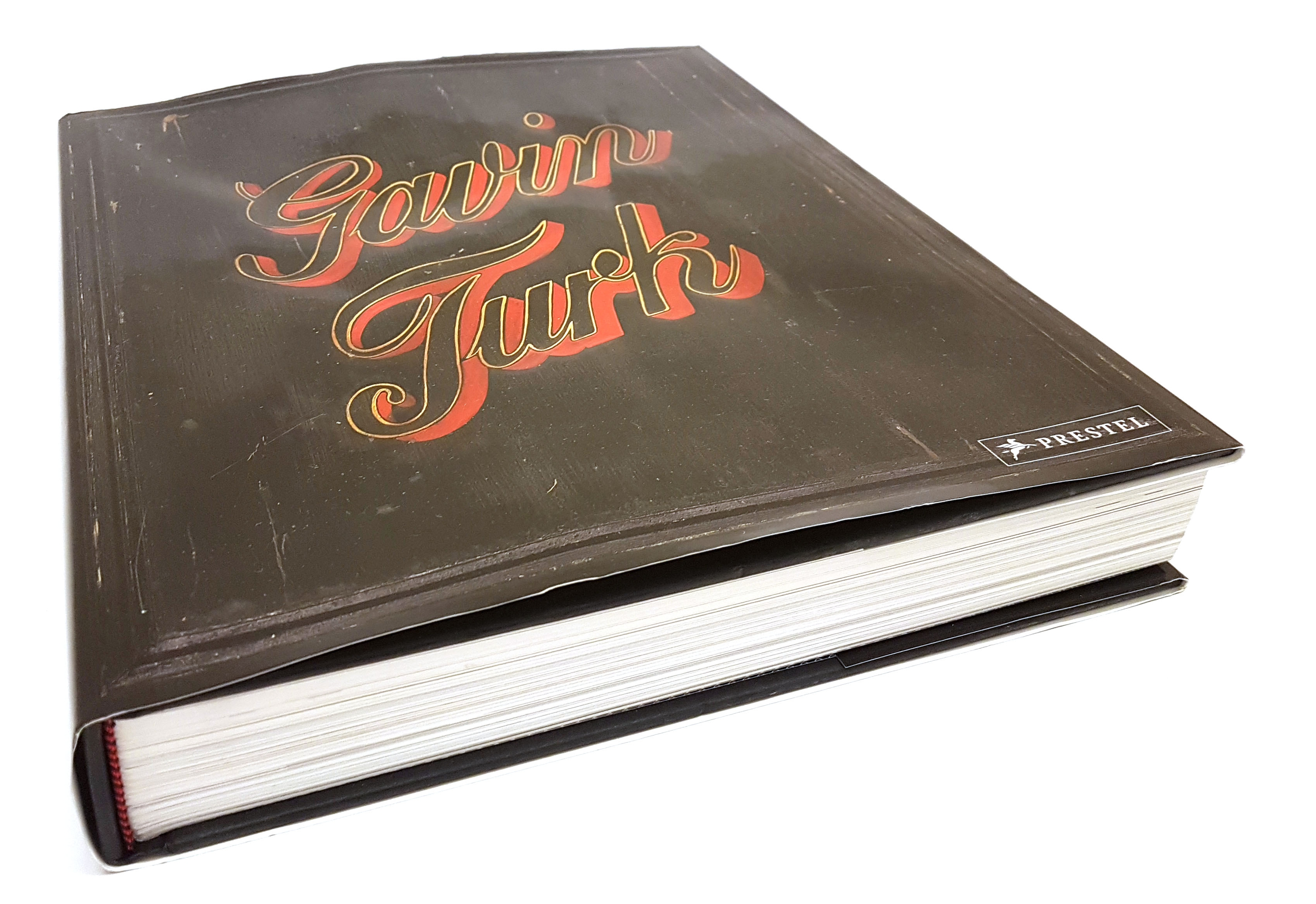 Buch / Book / Catalogue: Gavin Turk, Prestel signed