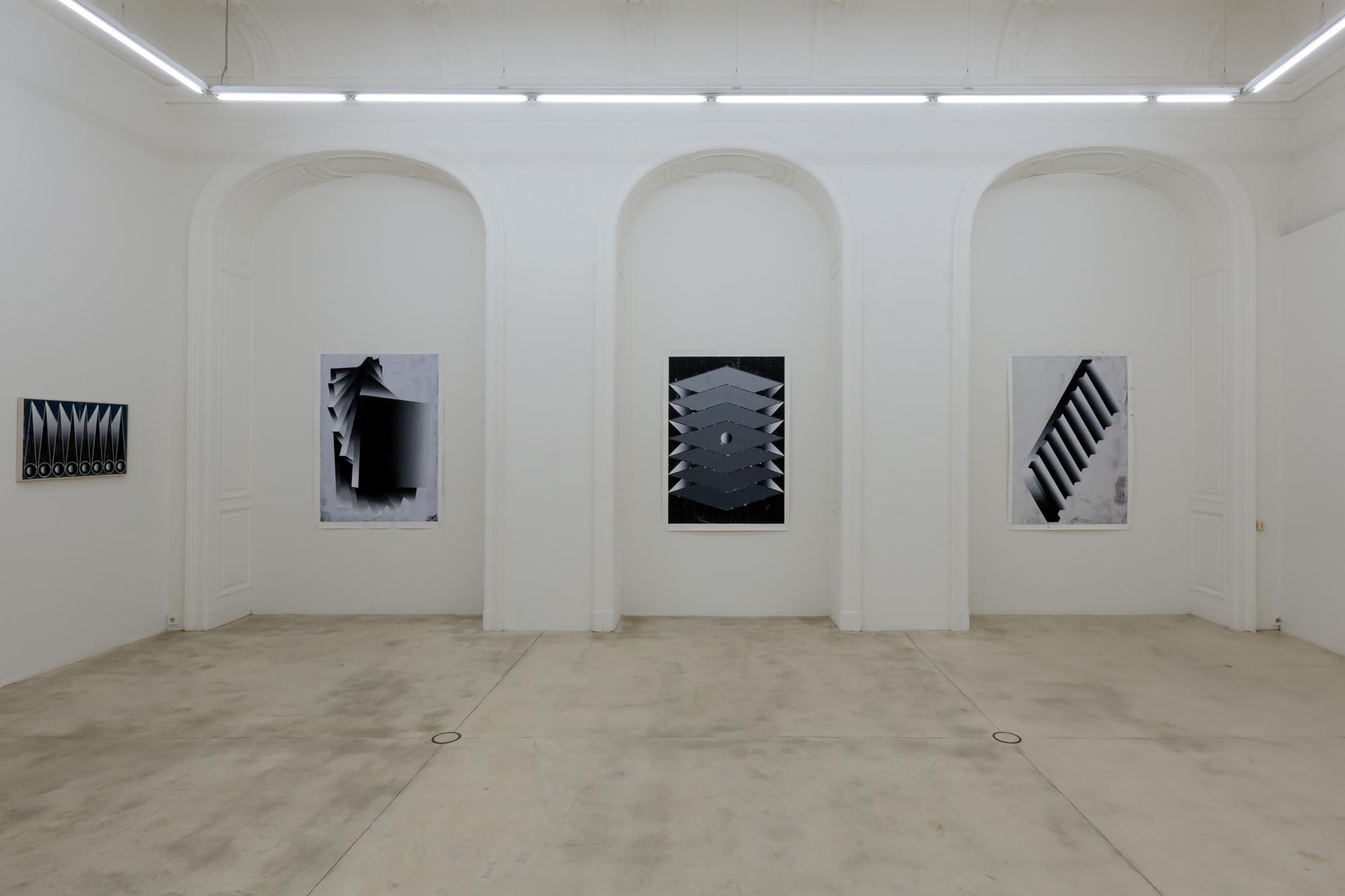 Vladimir Houdek art exhibition at gallery Krinzinger