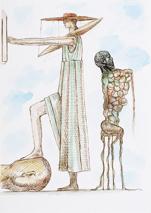 Nader Ahriman Kunstwerk / Artwork