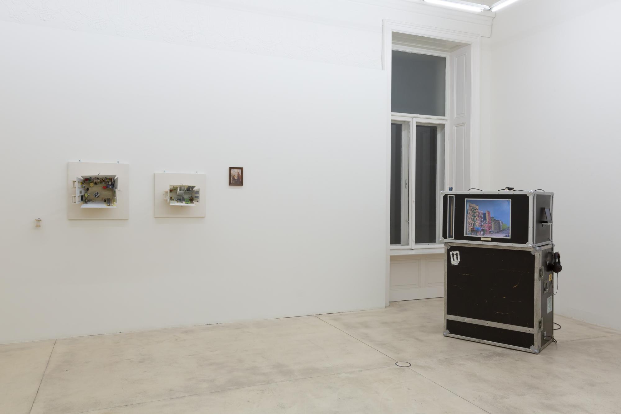 Kunst von Linus Riepler in der Ausstellung 2017.