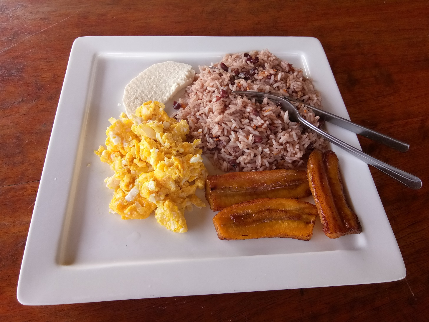 typisches Essen in Nicaragua