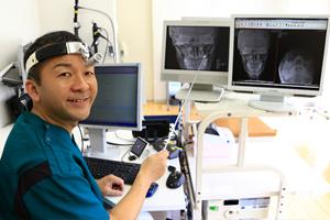 大阪府 堺市 耳鼻科 耳鼻咽喉科 しまだ耳鼻咽喉科 レントゲン・CTの説明