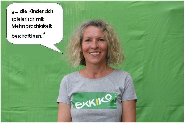 Ulrike (Projektverantwortliche) Lehrerin für DaF und DaZ