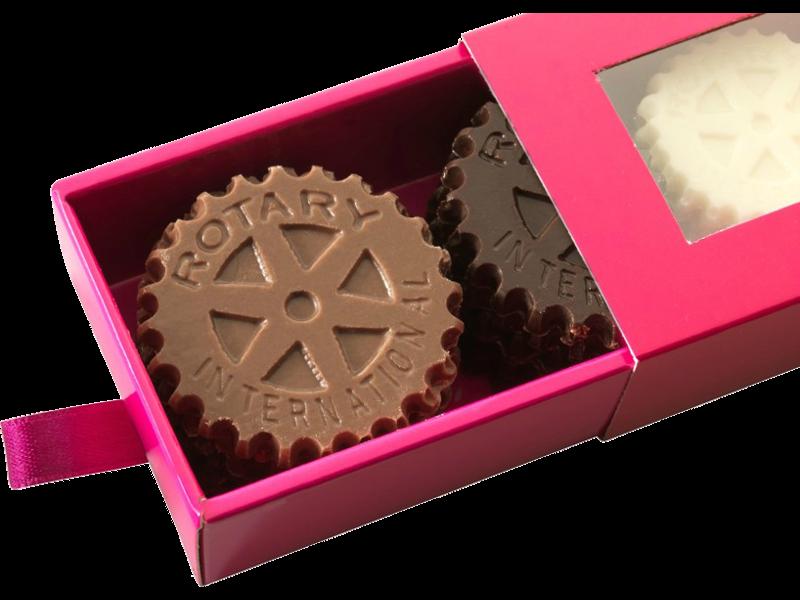 chocolate mold ROTARY INTERNATIONAL