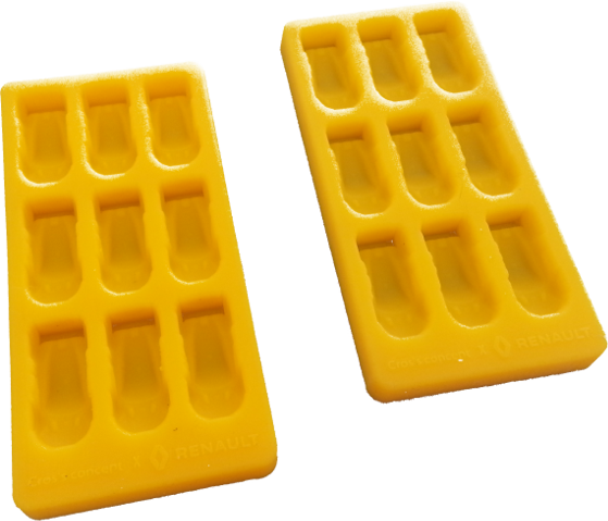 silicone ice cubes mold RS01 pour workshop RENAULT