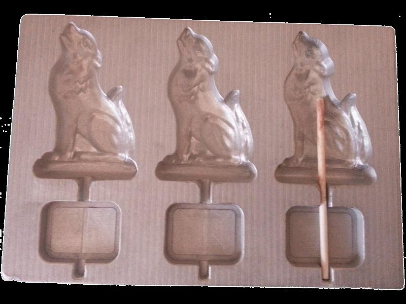 aluminium matrix for thermoformed  lollipop  ALPHA PARK
