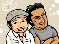 今回インタビューしたスパイクのお二人。向かって左が飯塚さん、右が雪田さん。