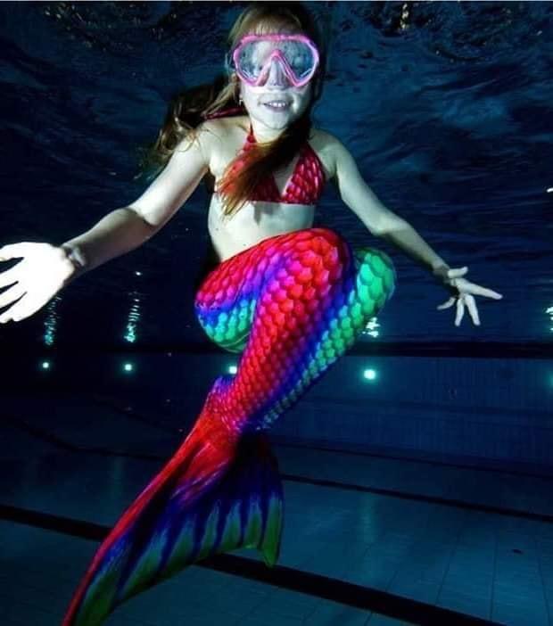 Meerjungfrauen Fortgeschrittenenkurs incl. Fotoshooting
