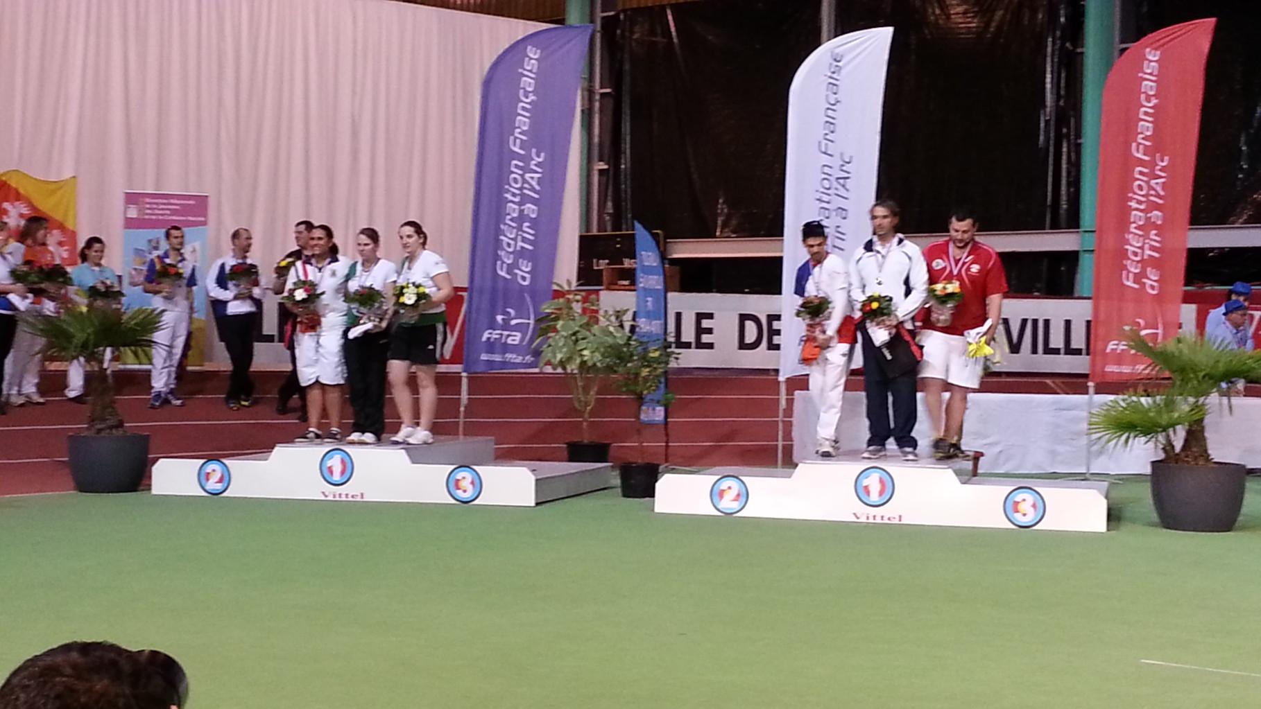 Le finalistes aArc Clasique