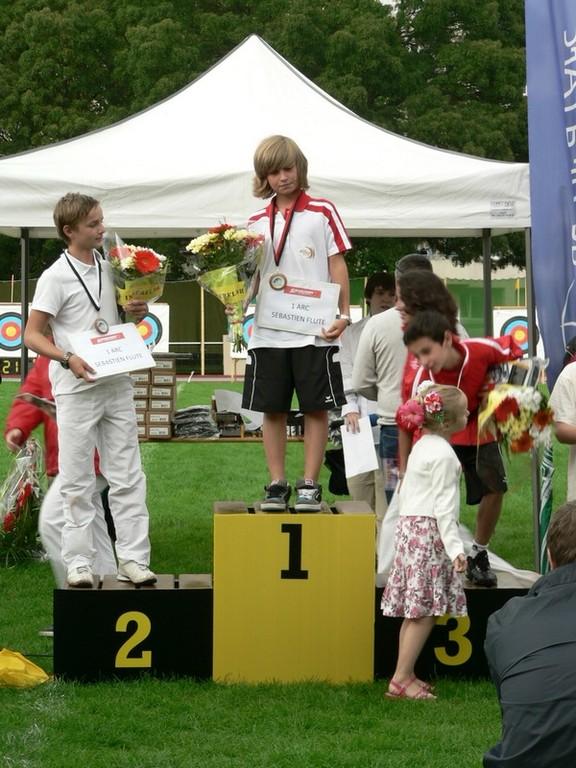 Besancon podium individuel