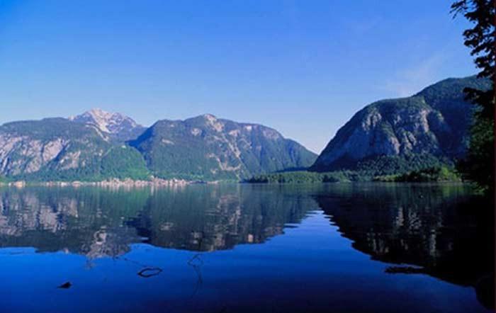 Bild: Hallstatt lake