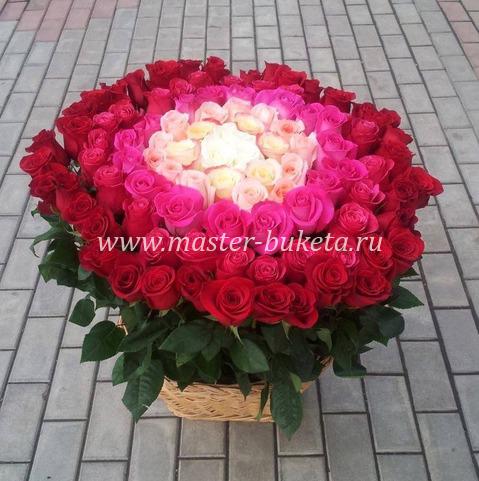9-702 (125 роз)