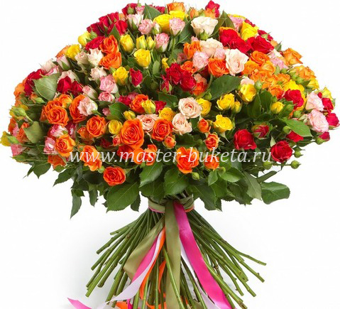 9-518 (51 кустовая роза)