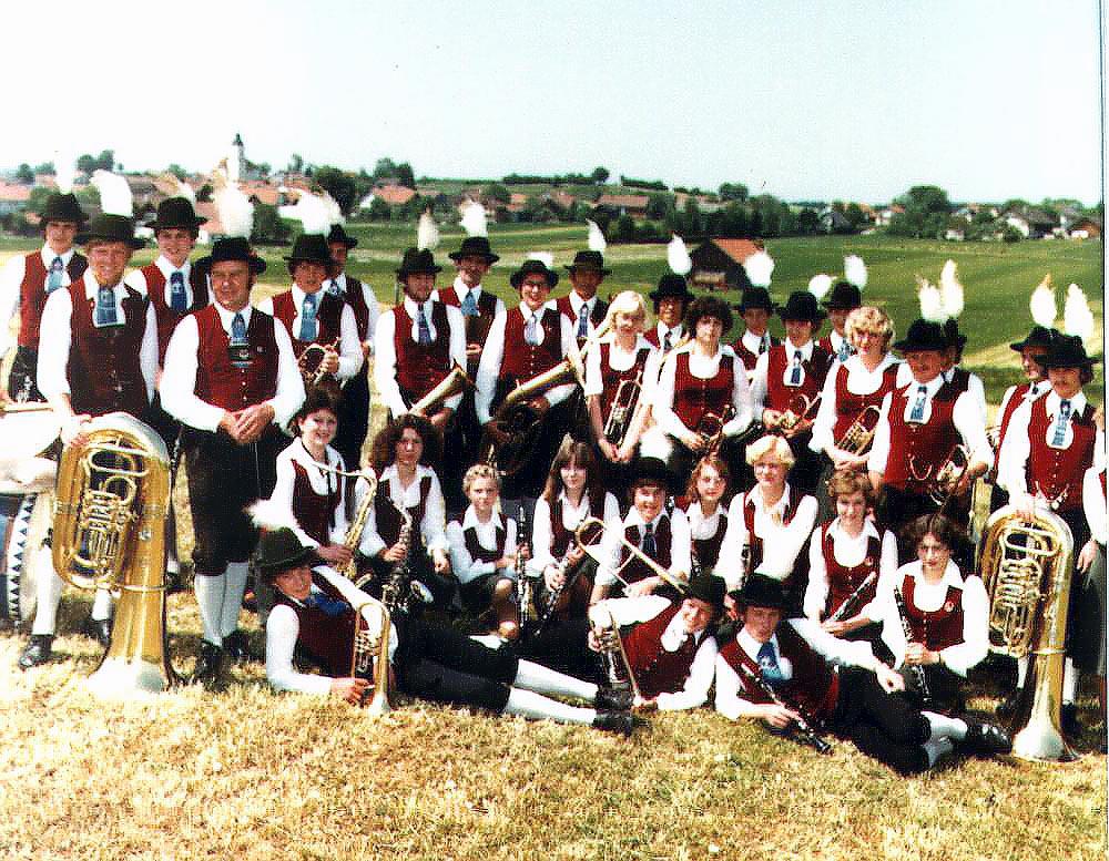 1978 - Musikkapelle Höhenberg in Reichling