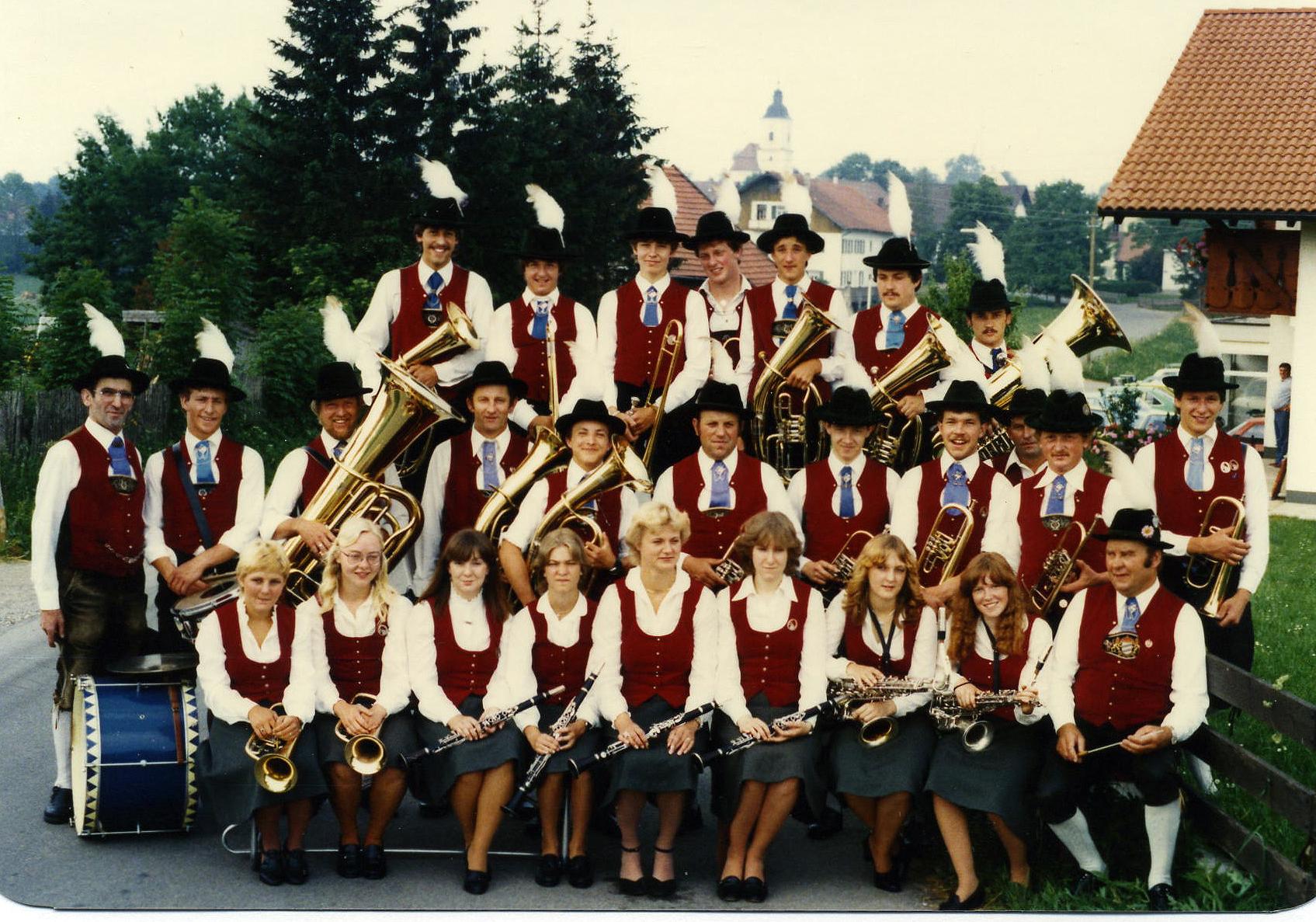 1982.06. - Musikkapelle Keltenstraße in Reichling