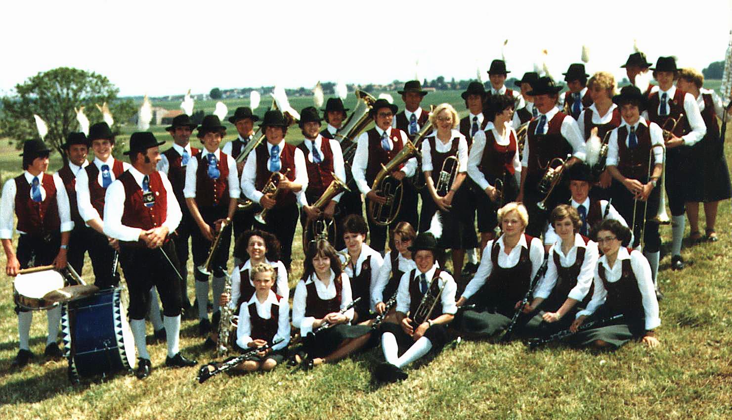 1978 - Musikkapelle in Reichling