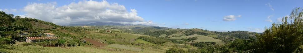 Een van de vele panorama onderweg