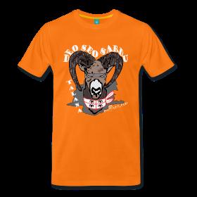 Männer-Shirt orange