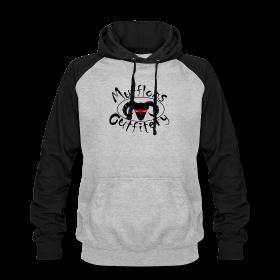 Hoodie grau-schwarz  Mufflons Outfitery