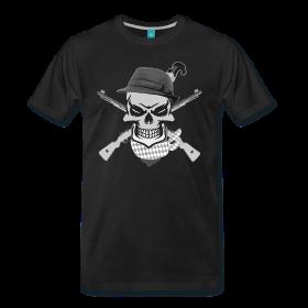 Der Totenkopfbayer mit Hut