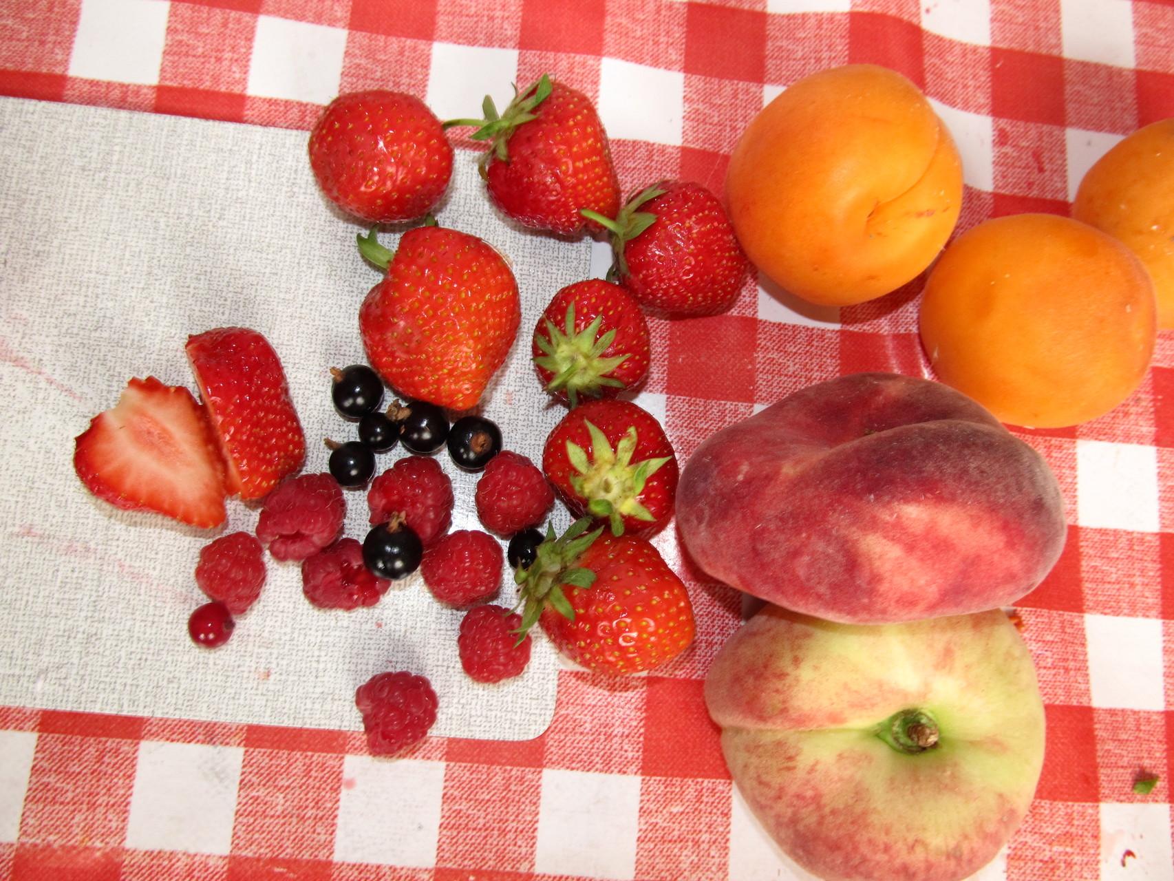 Wir verwenden frisches und regionales Obst!