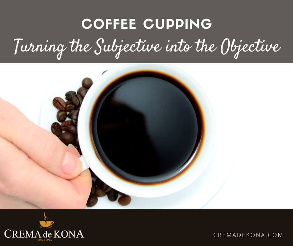 Coffee Cupping: Turning the Subjective into the Objective
