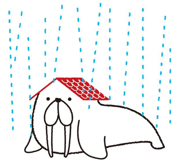 雨からまもる!
