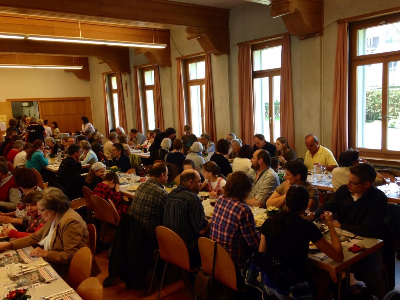 Spaghettitag ca. 130 Gäste