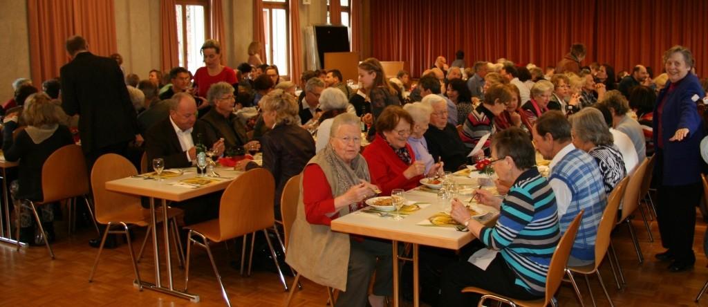 Viele Gäste durften wir bewirten     Foto: Peter Isele