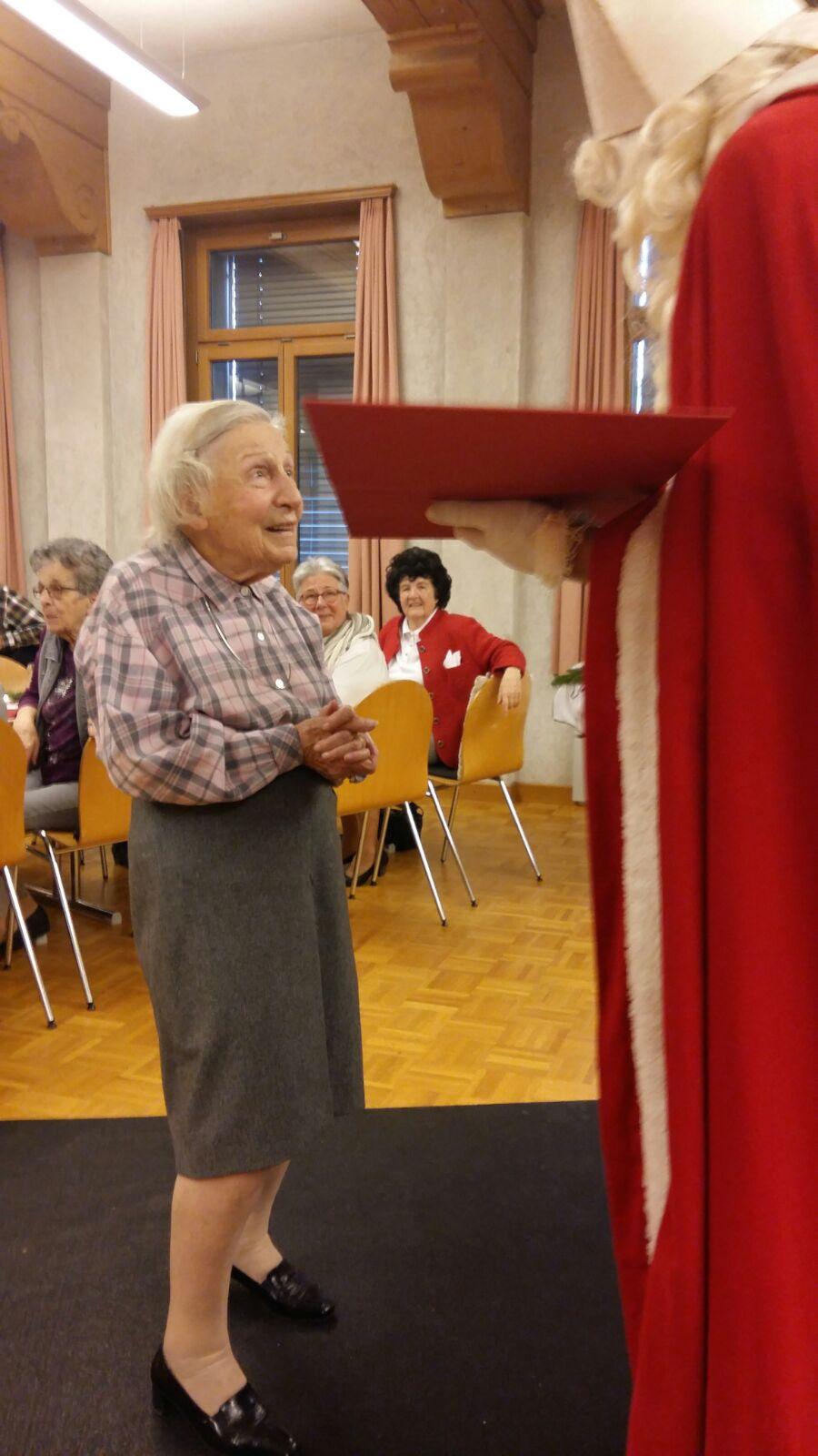 Seniorenchlaus - Gedichte vortragen immer noch aktuell