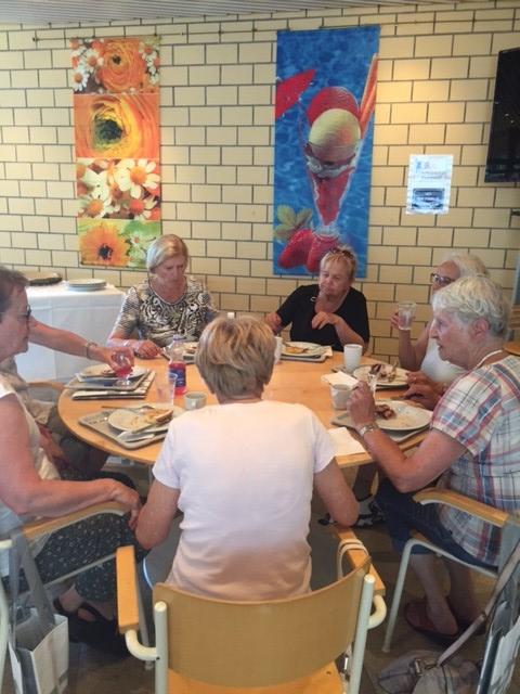 Paraplegiker Zentrum - Kaffeepause
