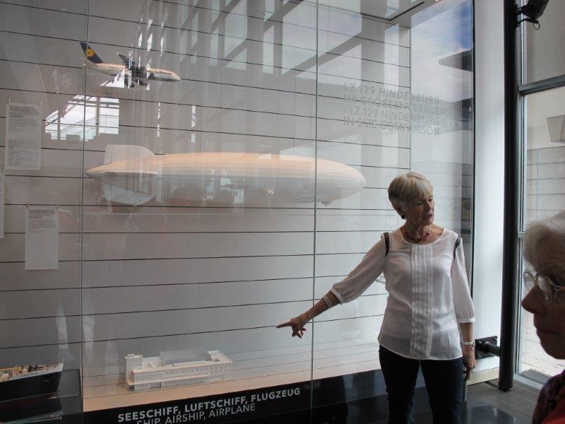 Vereinsreise Bodensee Zeppelinmuseum