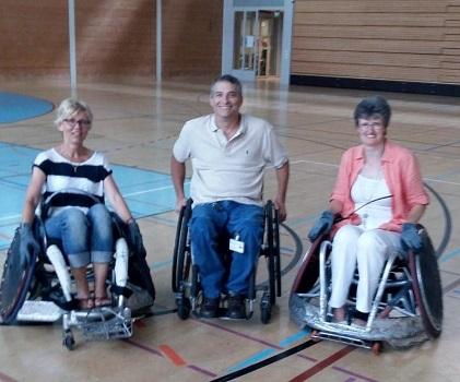 Paraplegiker Zentrum - 2 Vorstandsfrauen trauen sich