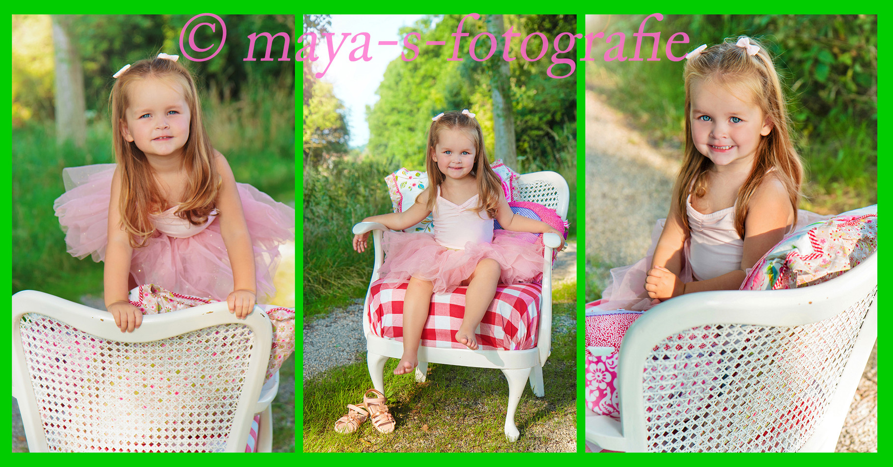 Outdoor shooting  im Sommer