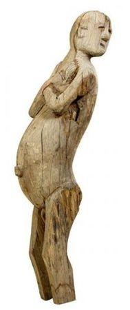 Sculpture de bois Jörai