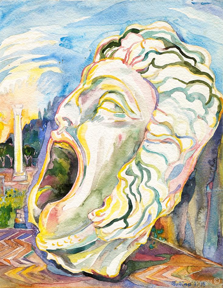 Gorgone Méduse dans Hippone, 1971