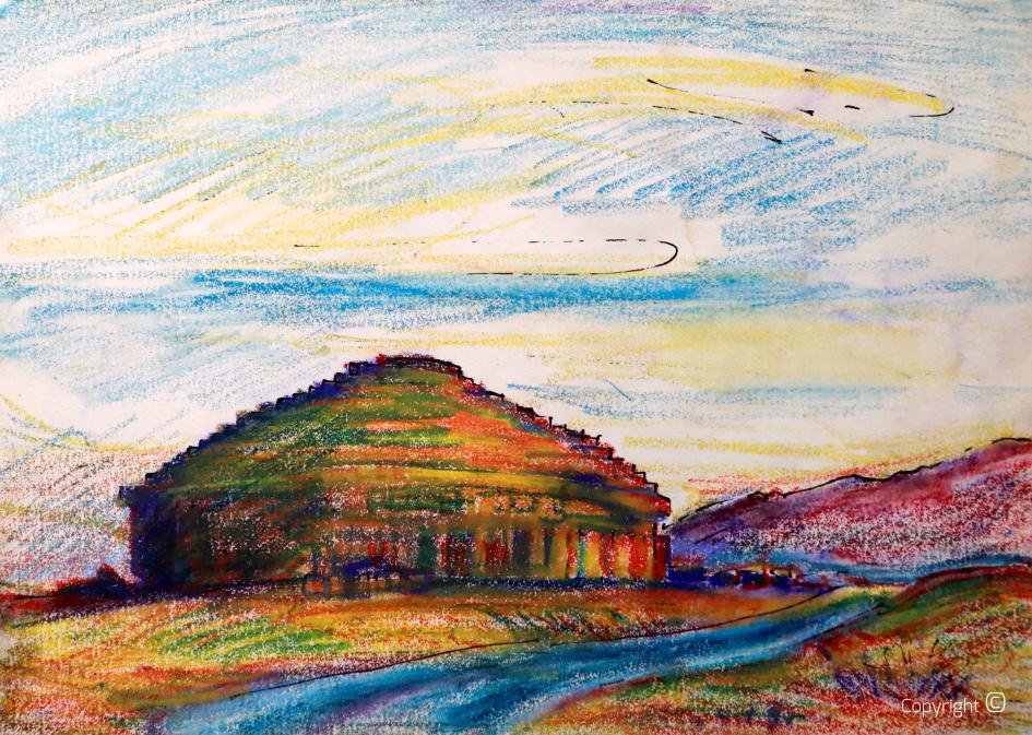 Le medracen près de Batna, 1991