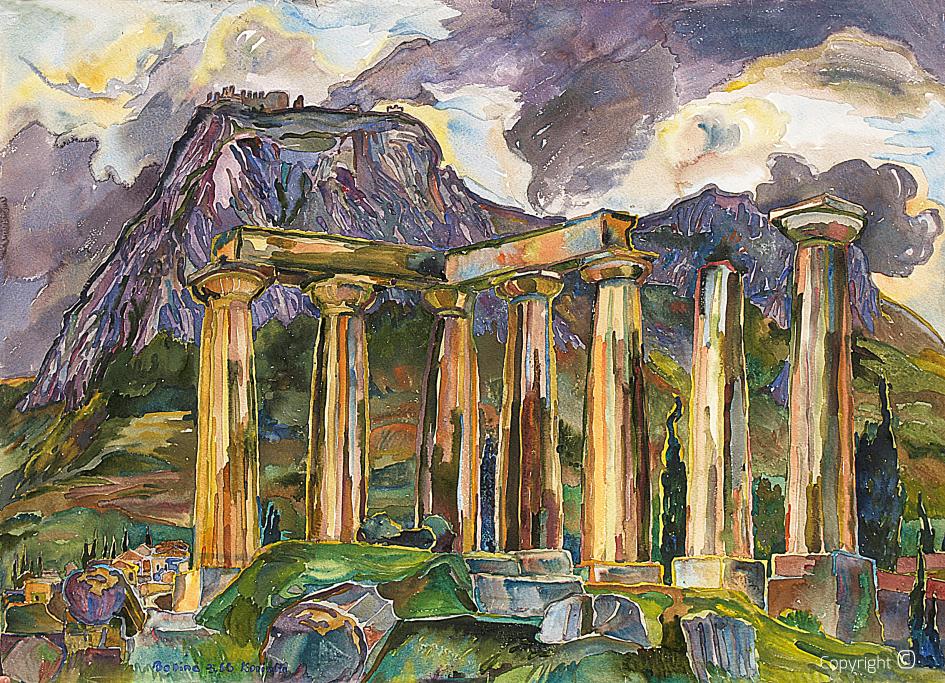 Der Tempel von Corinth, 1966