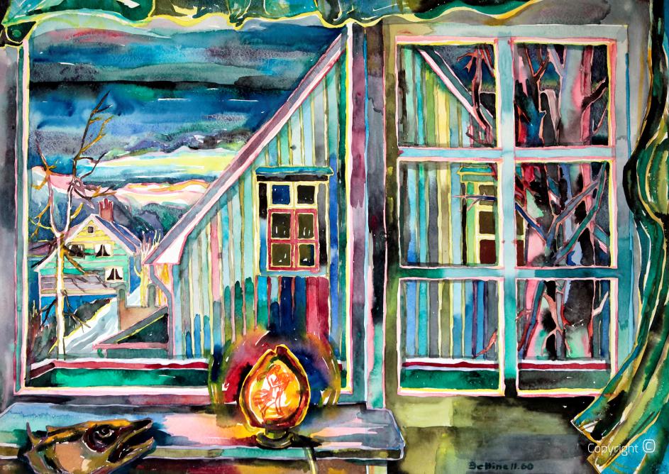 Norwegische Impression, 1960